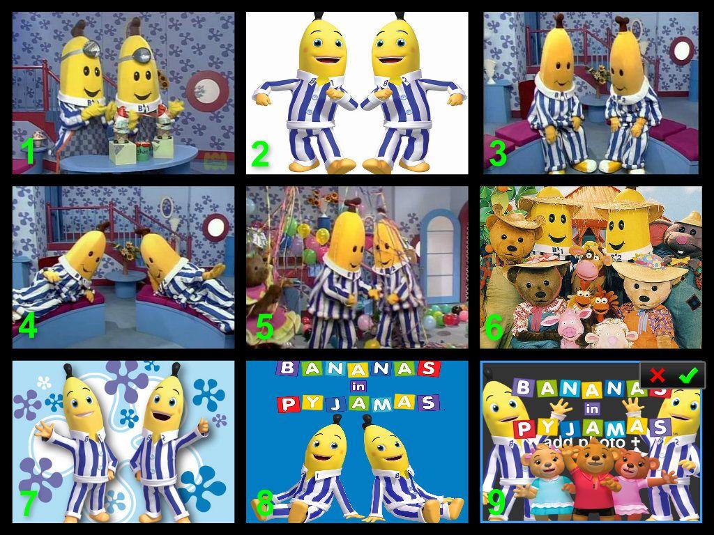 Bananas In Pajamas Cake Topper