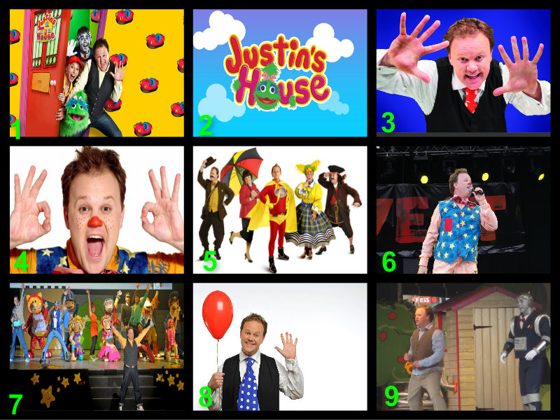 Mr Tumble Edible Cake Toppers
