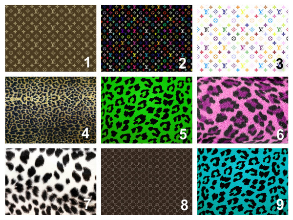 picture about Printable Edible Paper referred to as Individualized Designer Handbag and Leopard Print Edible Cake Topper Wafer Paper/Icing Paper